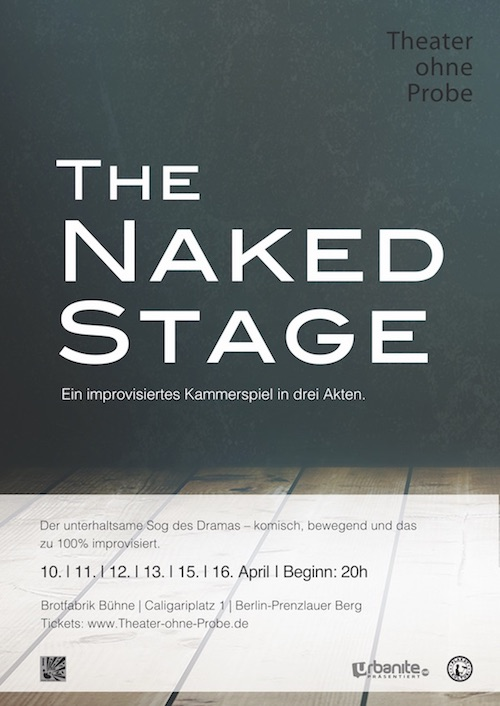 Kulturförderung: The Naked Stage
